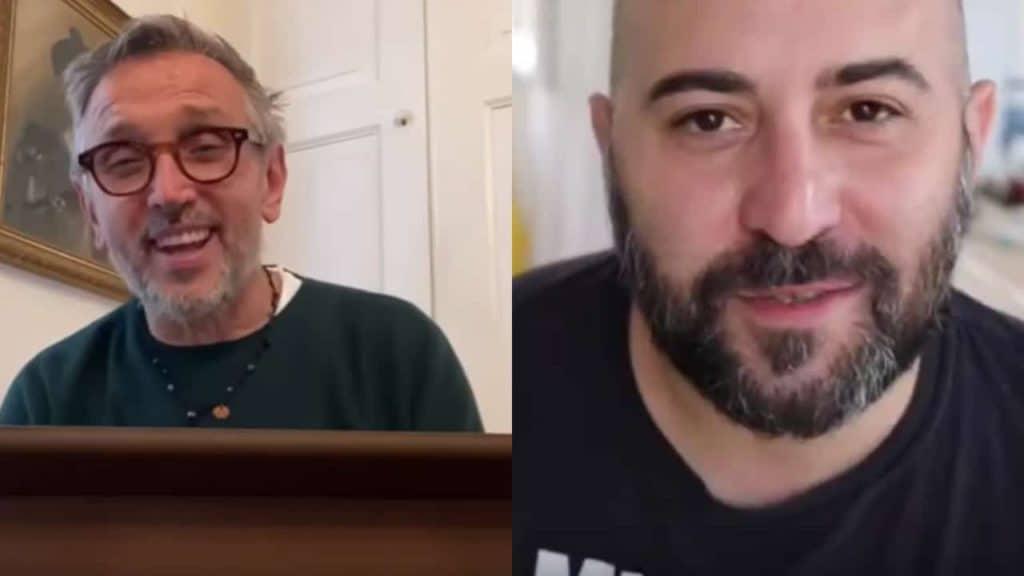 Bruno Barbieri e Giuliano Sangiorgi