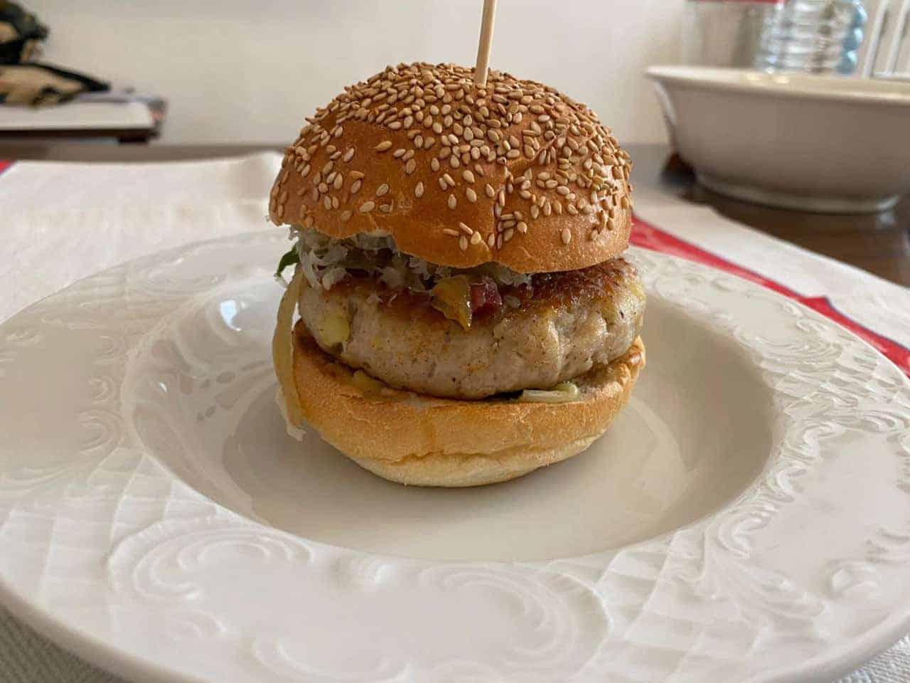 Hamburger di faraona